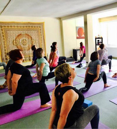 Yoga retreat at the Conti